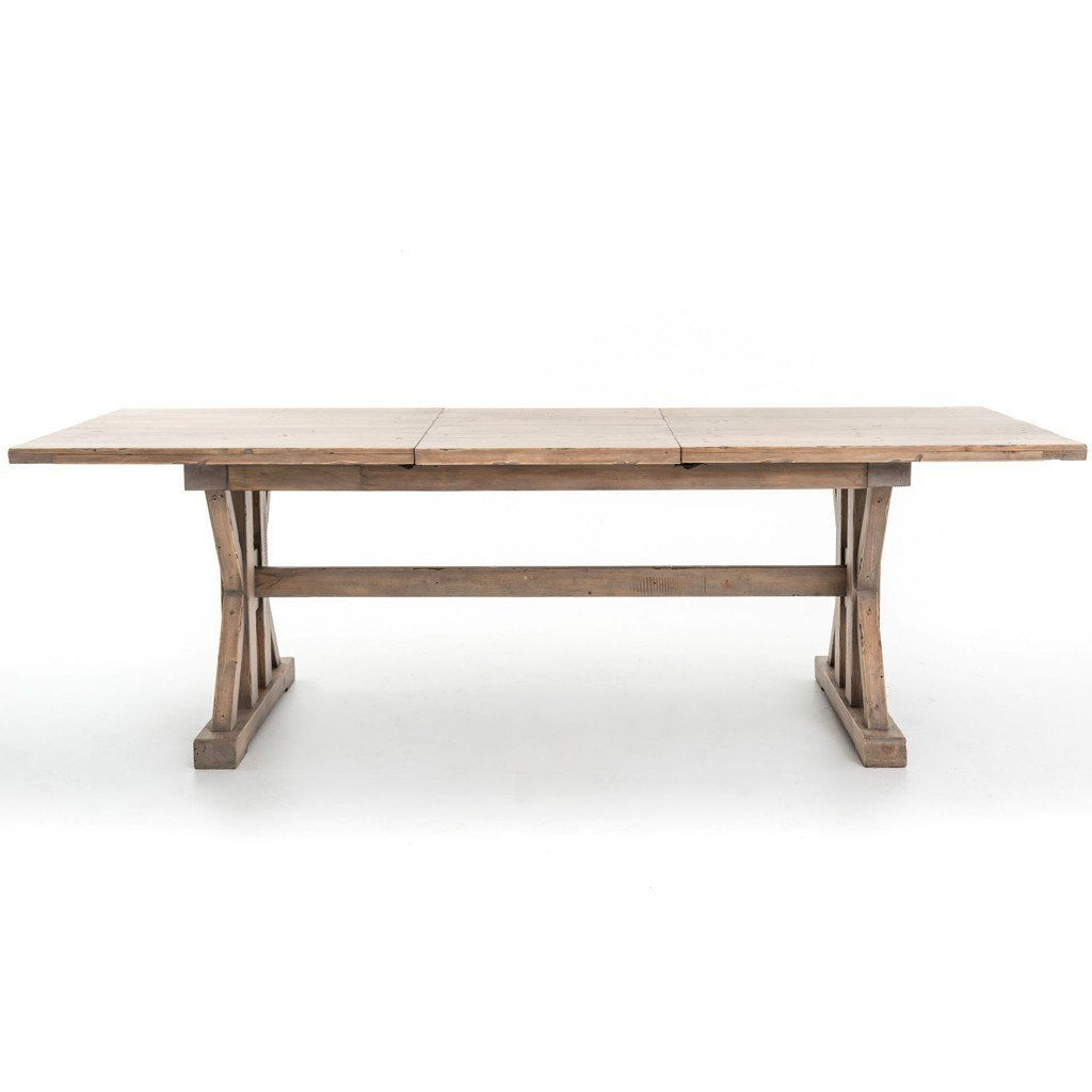 2019 Tuscan Spring Extension Dining Table In  (View 15 of 25)