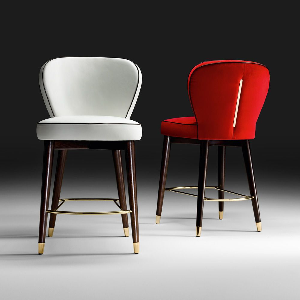 2020 Hearst Bar Tables with regard to High End Italian Designer Bar Stool In 2019