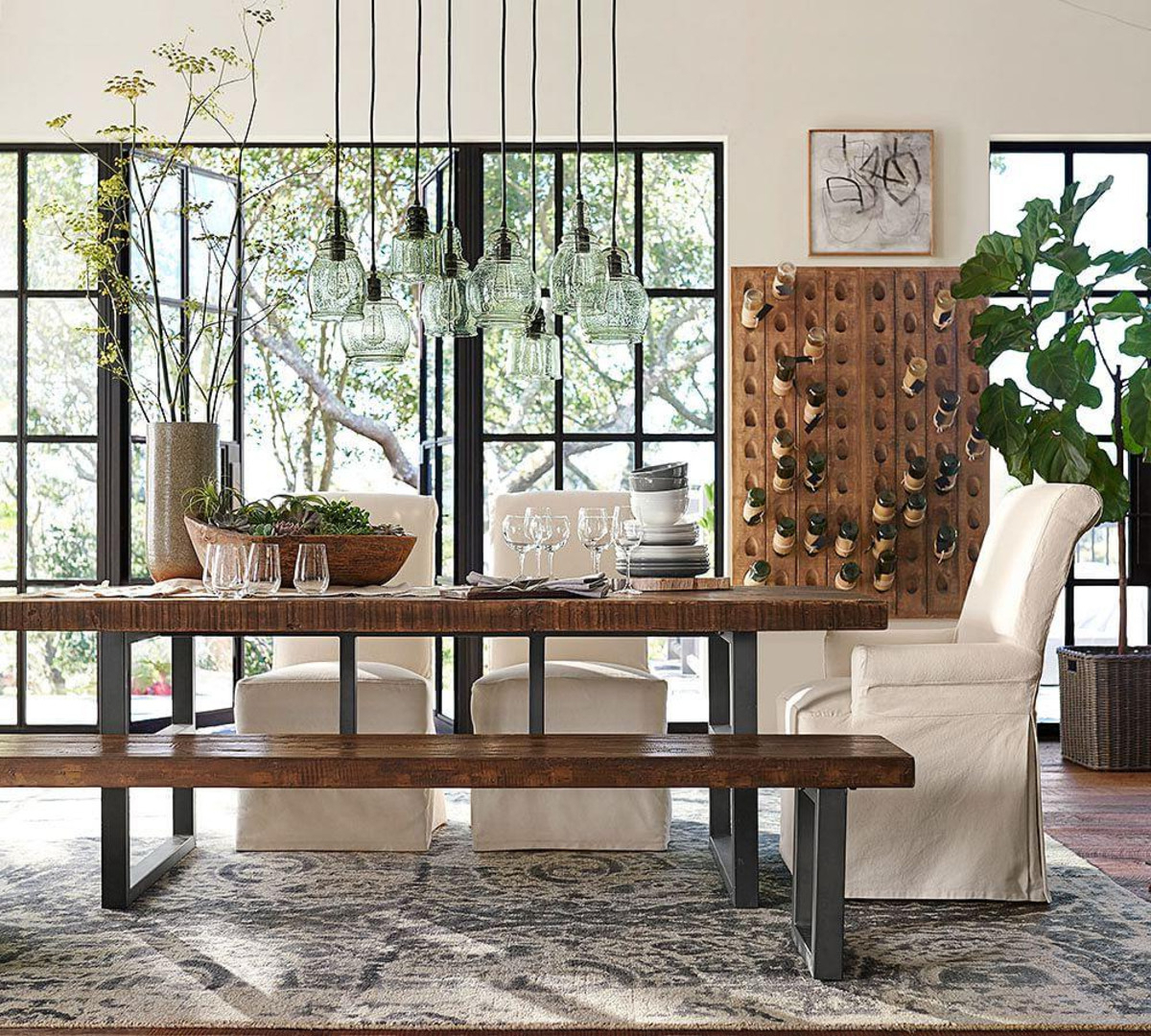 2020 Kitchen Table Height Secrets — Gearon Hoffman Home intended for Griffin Reclaimed Wood Dining Tables