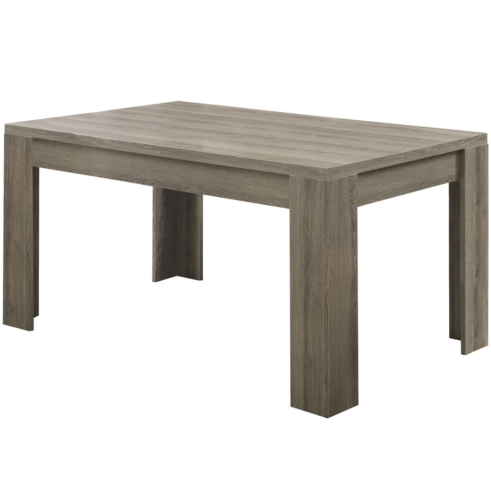 36 X 60 Reclaimed Wood Dining Table In Dining Tables with Most Popular Bismark Dining Tables