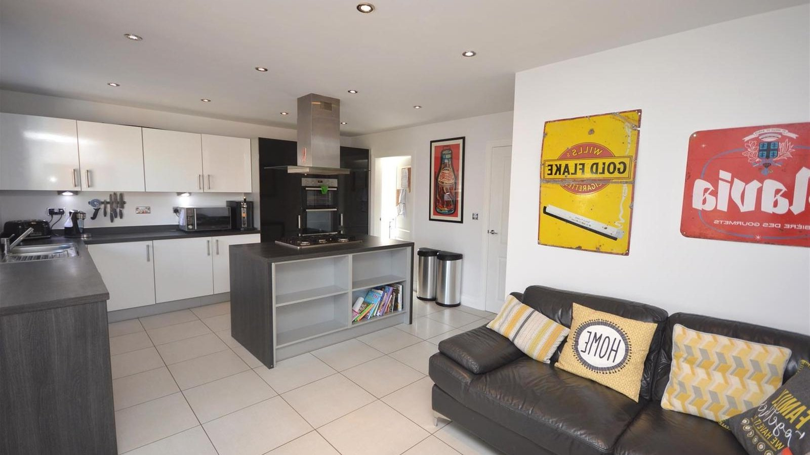 4 Bedroom Property For Sale In Elworth Hall Farm Road Inside Well Known Elworth Kitchen Island (View 25 of 25)