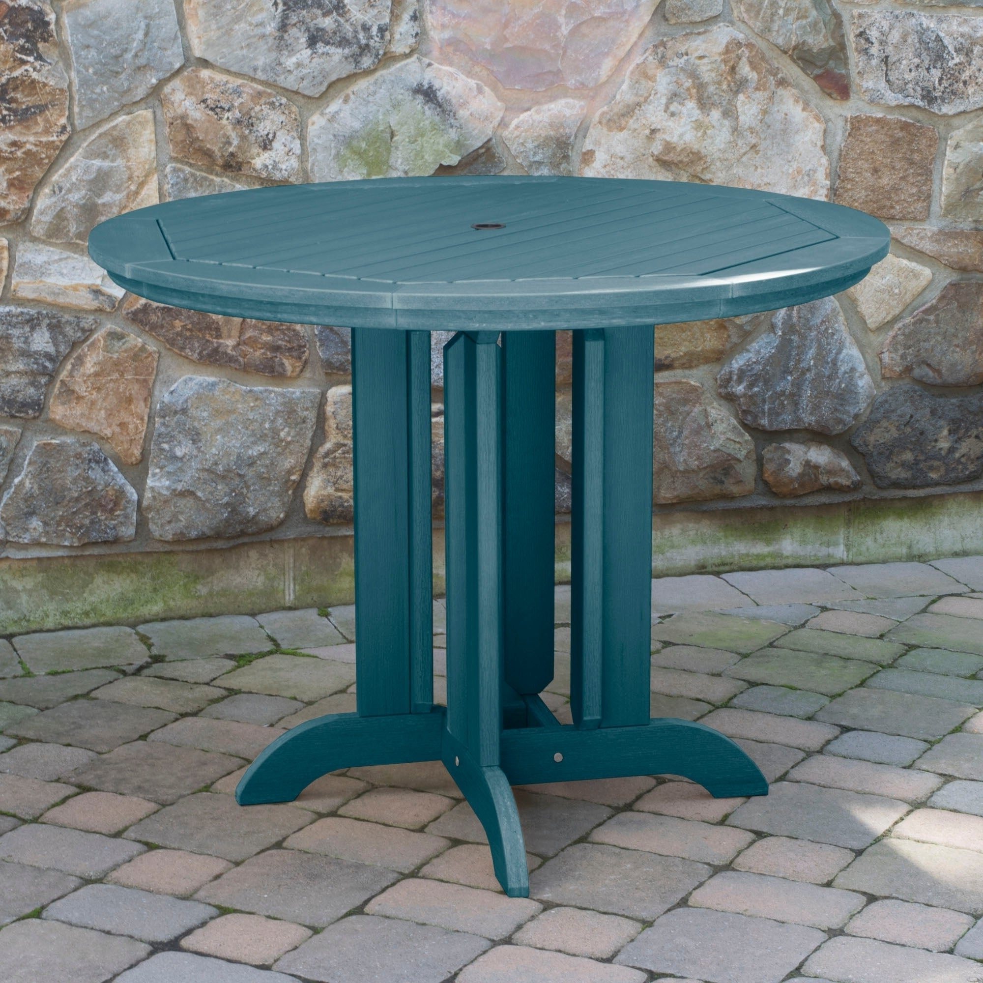 48-In Round Counter-Height Dining Table pertaining to Well known Benchwright Counter Height Tables