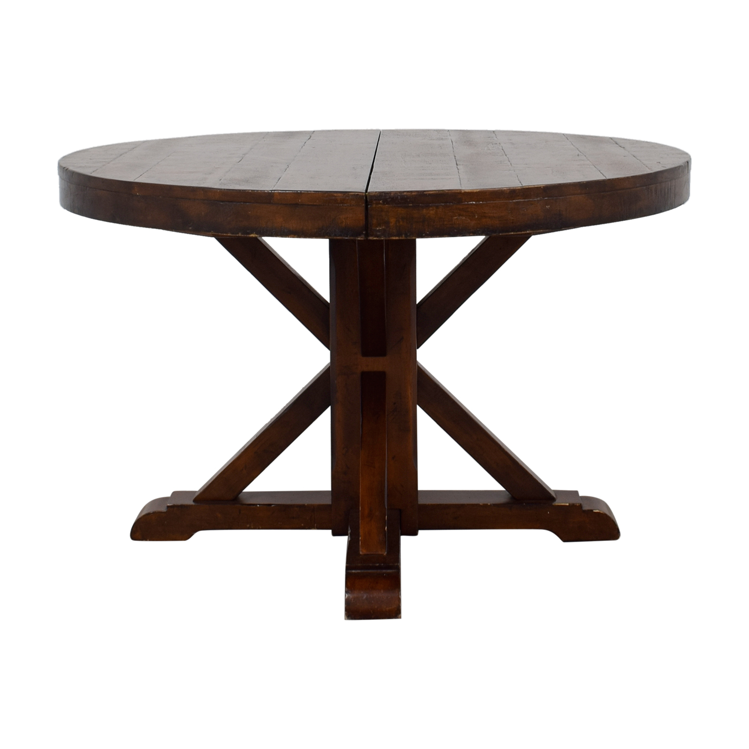 Featured Photo of Benchwright Round Pedestal Dining Tables