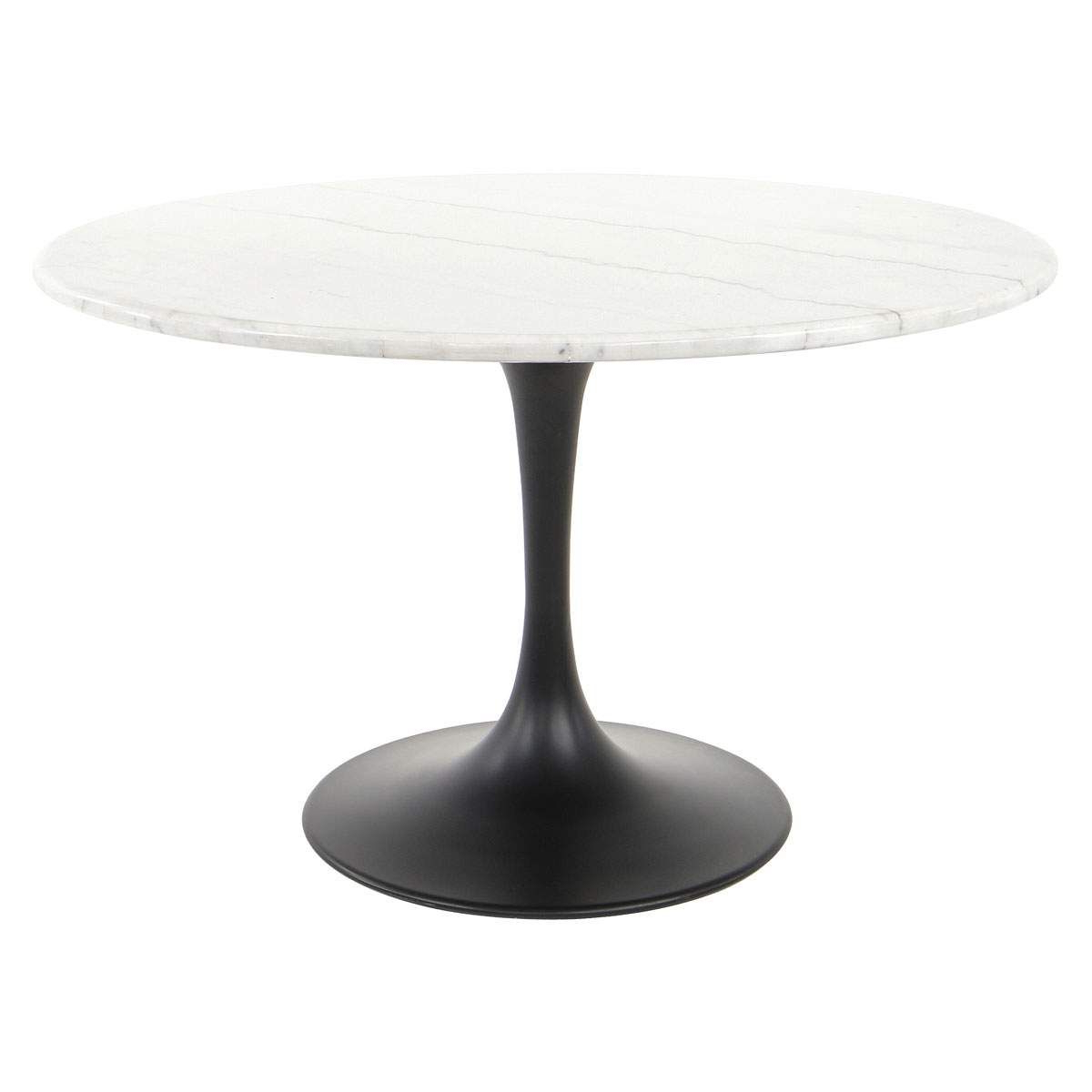 909 with Chapman Marble Oval Dining Tables