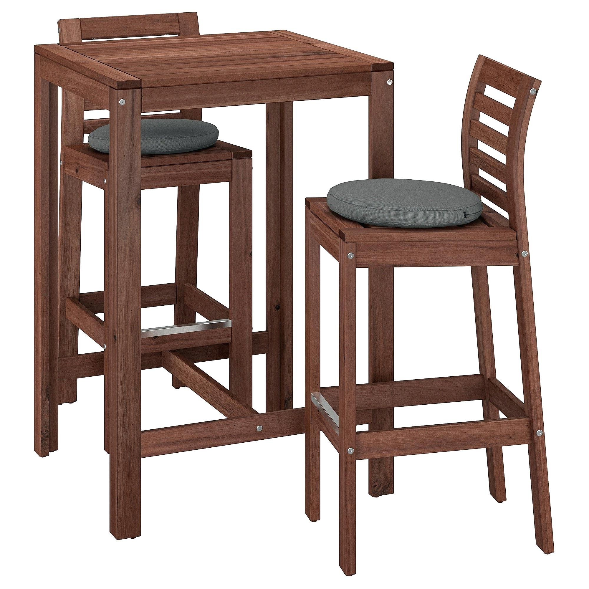 Alder Pub Tables With Regard To Recent Outdoor Bar Table And Stools – Daviskeeley (View 25 of 25)