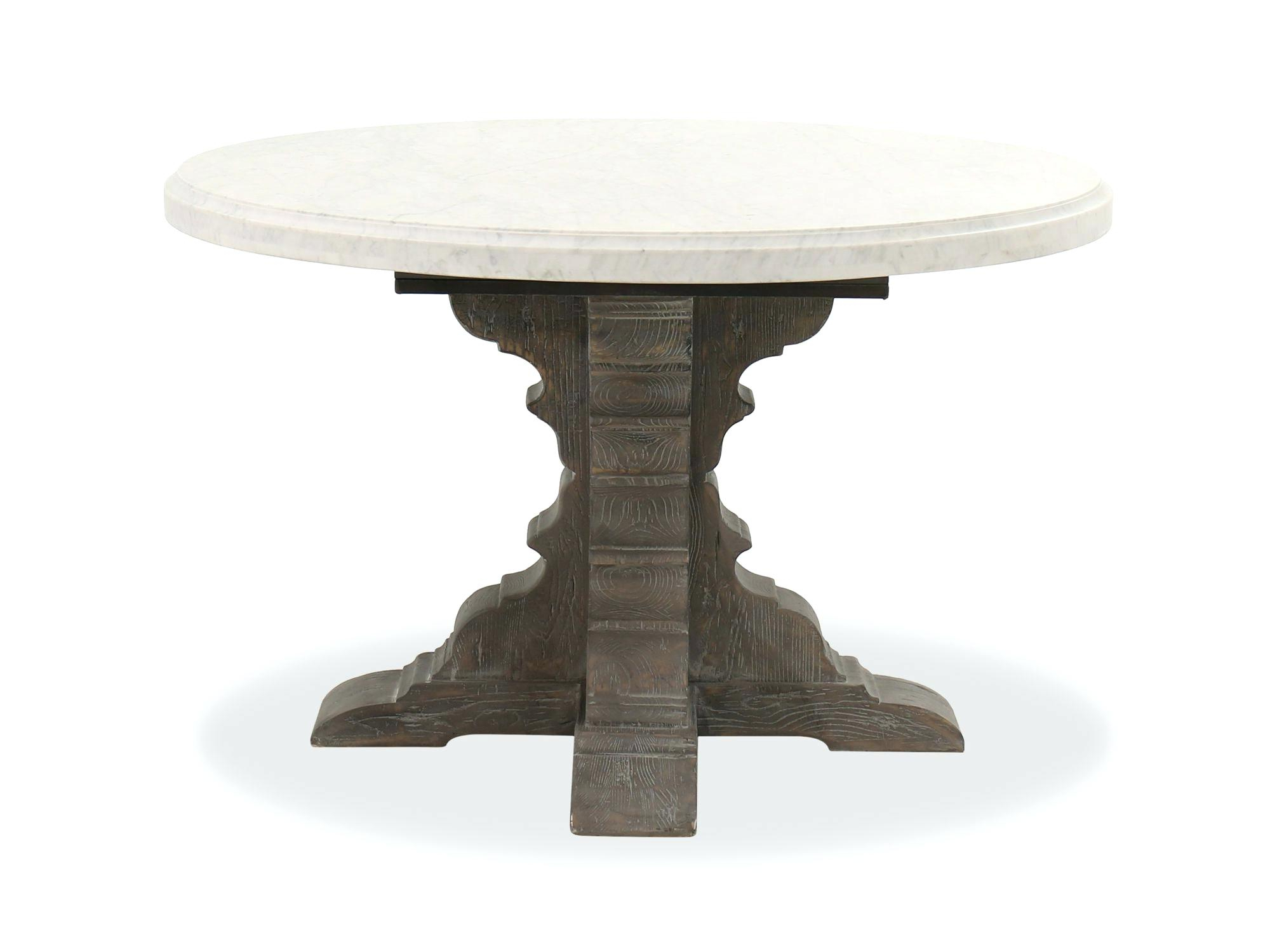 Alexandra Round Marble Pedestal Dining Tables Inside 2019 Marble Pedestal Dining Table – Meime (View 5 of 25)