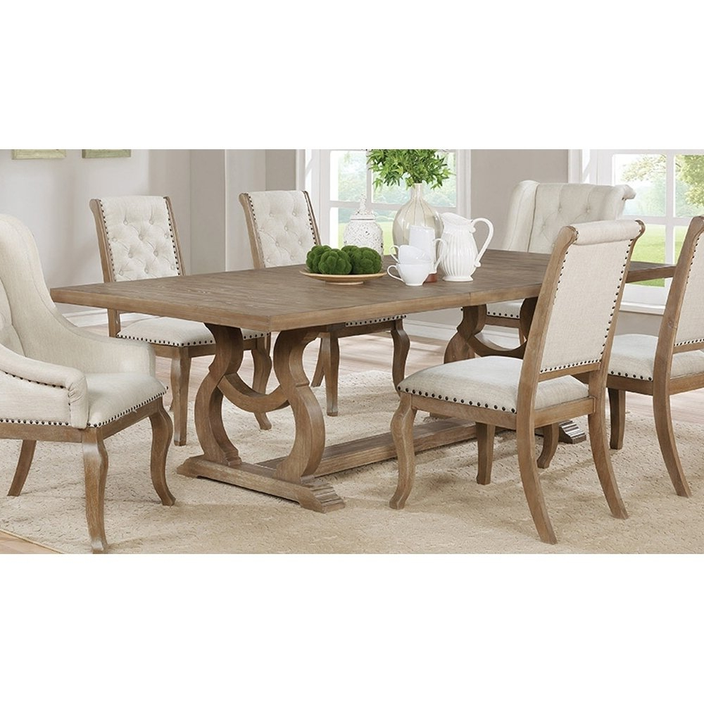 Alfresco Brown Banks Extending Dining Tables Throughout Well Known Marblehead Traditional Rectangular Dining Table (Antique (View 24 of 25)