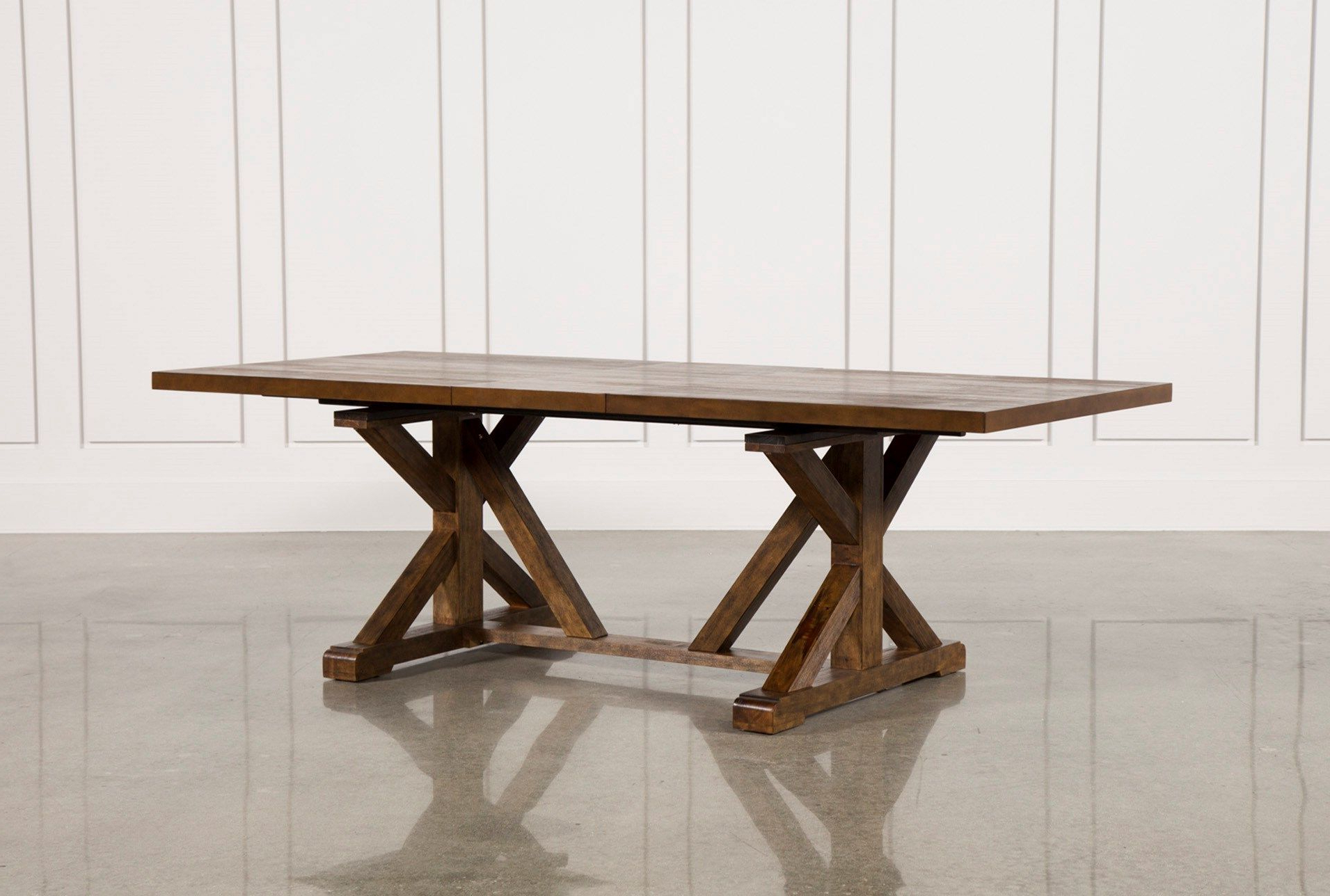Alfresco Brown Benchwright Extending Dining Tables With Regard To Widely Used Chandler Extension Dining Table (View 22 of 25)
