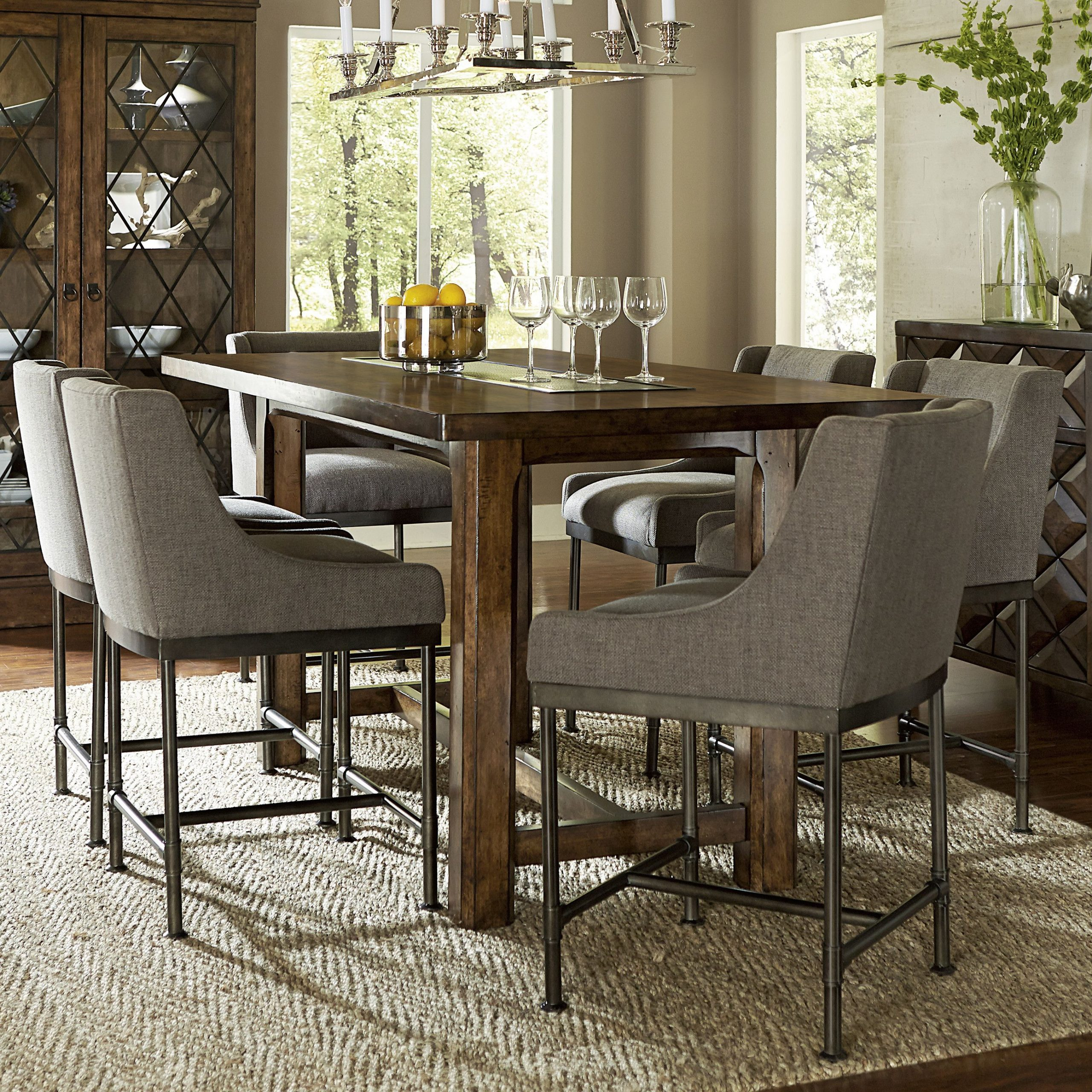 Avondale Counter Height Dining Tables For Most Recently Released Loon Peak Segula Counter Height Dining Table (View 4 of 25)