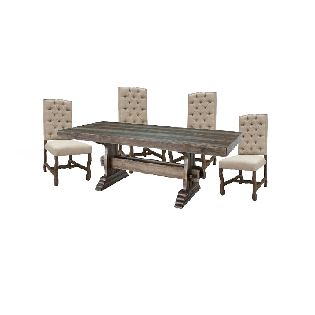 Avondale Counter Height Dining Tables Intended For Favorite Avondale Dining Set – 4 State Rustic Furniture (View 13 of 25)