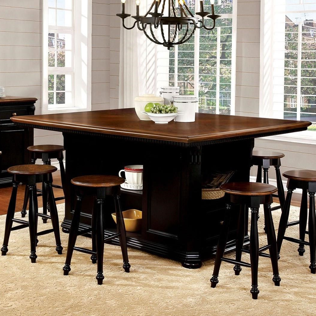 Avondale Counter Height Dining Tables Throughout Most Current Sabrina Counter Height Dining Table (View 23 of 25)