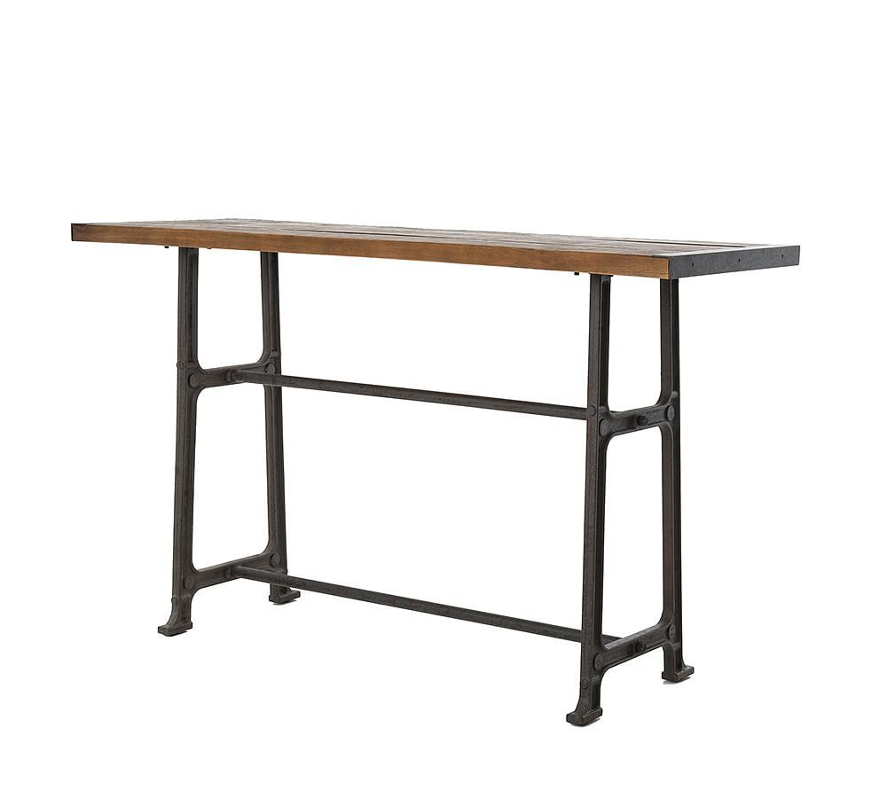 Bar Height Dining Table, Barn throughout Best and Newest Alder Pub Tables