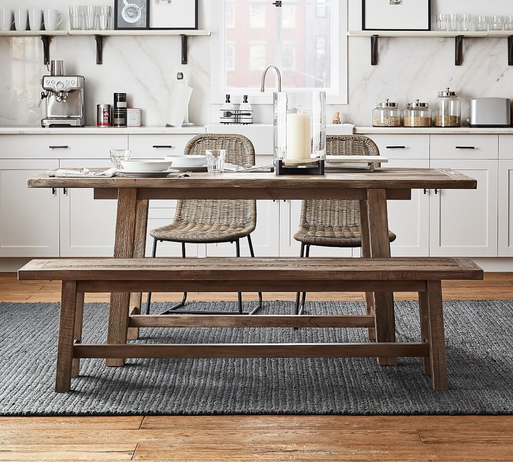 Bartol Reclaimed Pine Dining Table with regard to Widely used Bartol Reclaimed Dining Tables
