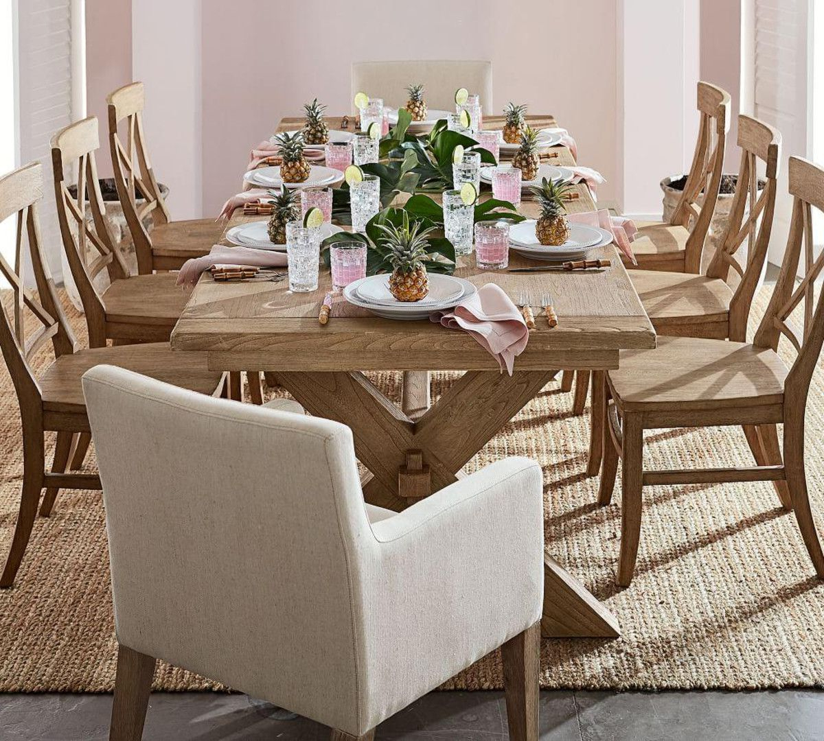 Belgian Gray Linden Extending Dining Tables inside Most Recently Released Toscana Extending Dining Table - Seadrift In 2019