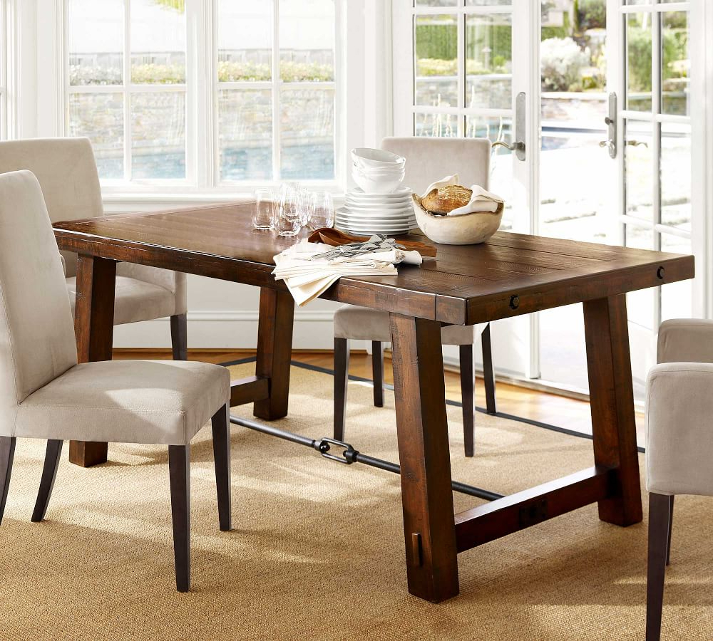 Benchwright Dining Table with regard to Newest Benchwright Bar Height Dining Tables