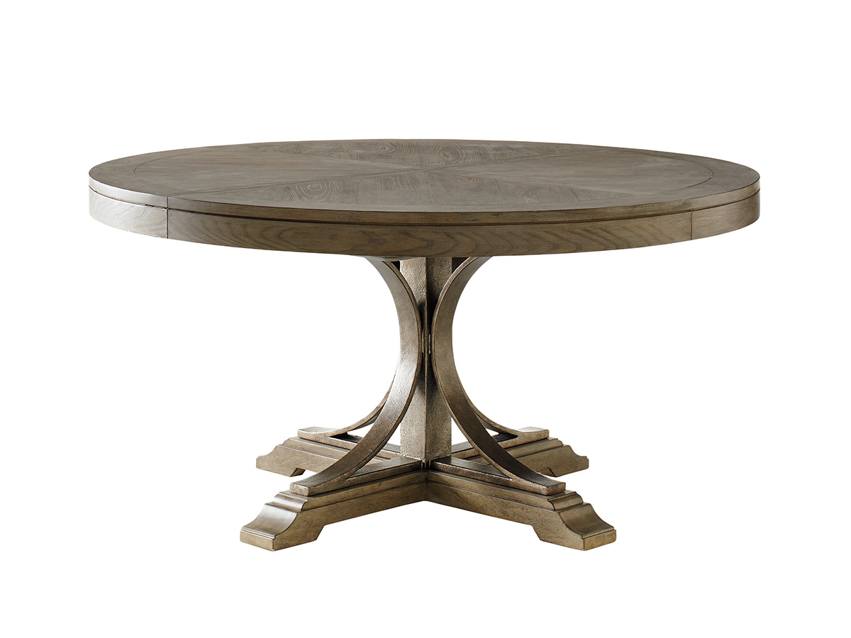 Benchwright Round Pedestal Dining Tables In Most Up To Date Product List (View 21 of 25)