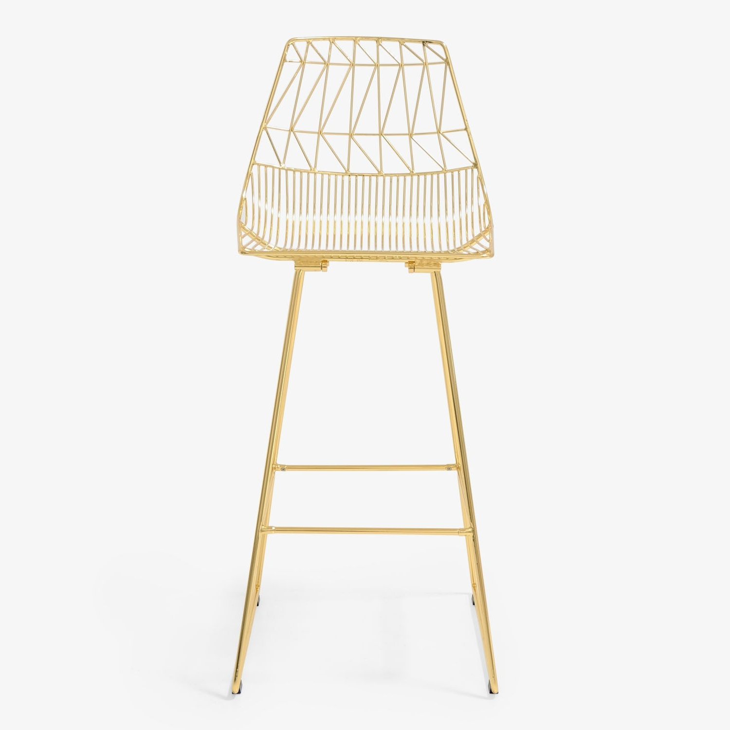 Bend Goods Lucy Bar Stool Metallic Pertaining To Preferred Lucy Bar Height Dining Tables (View 24 of 25)