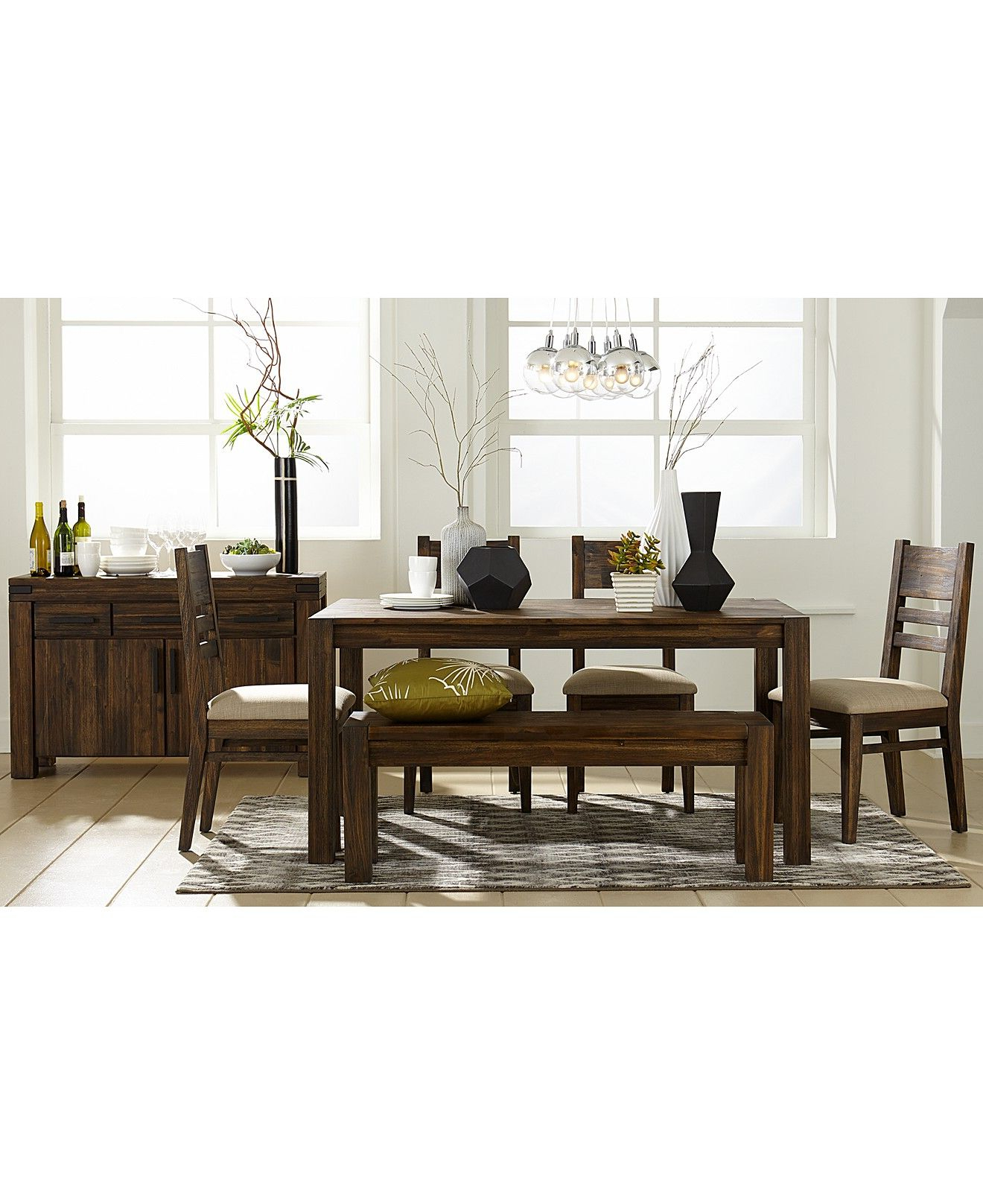 Best and Newest Avondale Dining Room Furniture Collection, Created For within Avondale Dining Tables