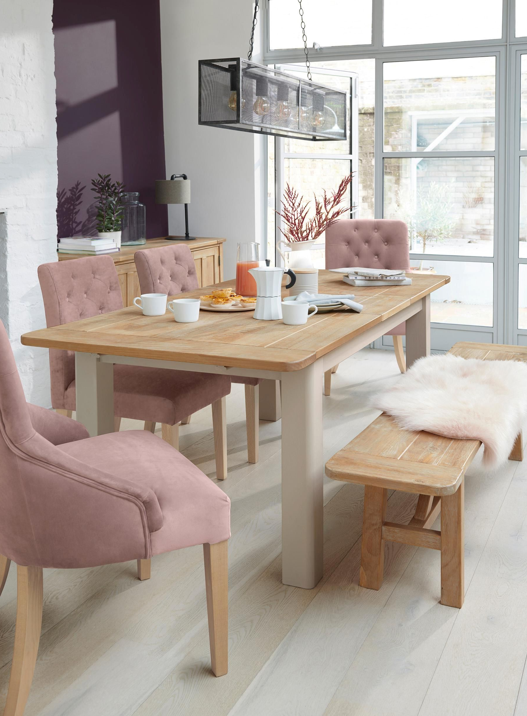 Best and Newest Buy Huxley Painted 6 To 8 Seater Extending Dining Table From with regard to Gray Wash Livingston Extending Dining Tables