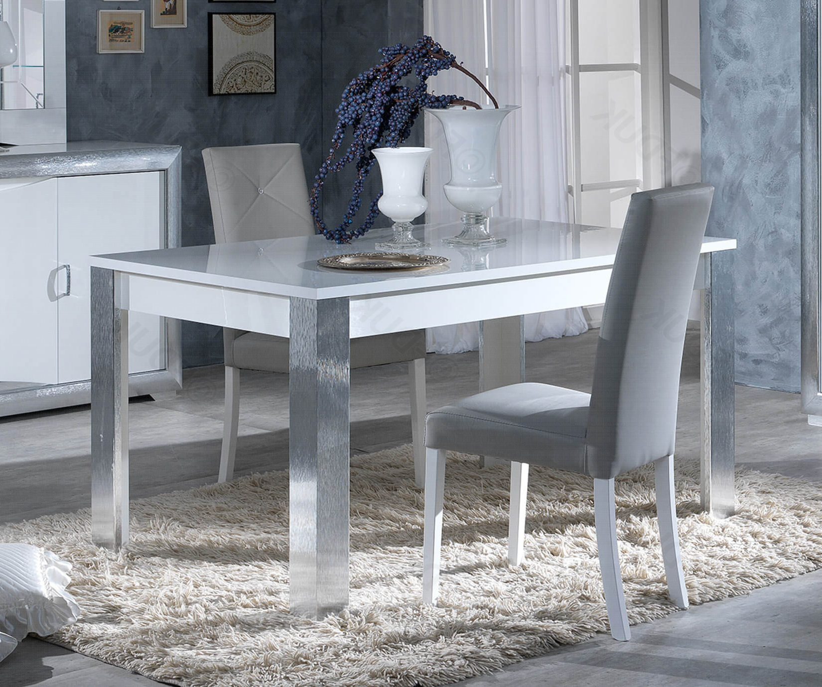 Best and Newest Martino Dining Tables throughout San Martino Dolcevita Rectangular Extension Dining Table