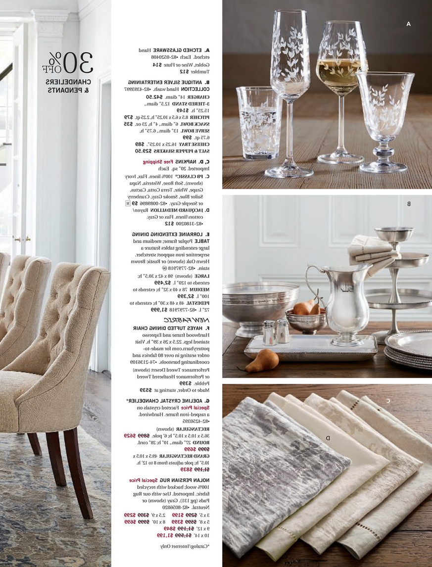 Best and Newest Pottery Barn - Fall 2017 D3 - Lorraine Extending Dining within Gray Wash Lorraine Extending Dining Tables