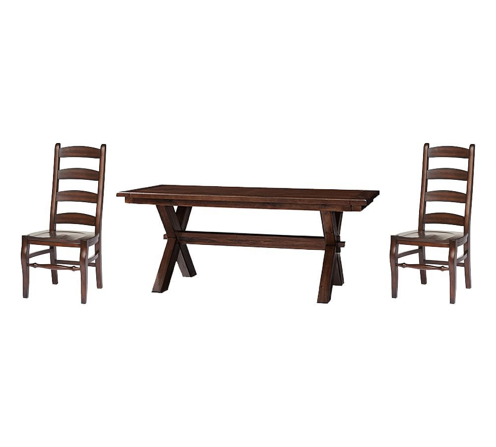 Best and Newest Tuscan Chestnut Toscana Extending Dining Tables pertaining to Toscana Medium Extending Dining Table & Wynn Chairs, Tuscan