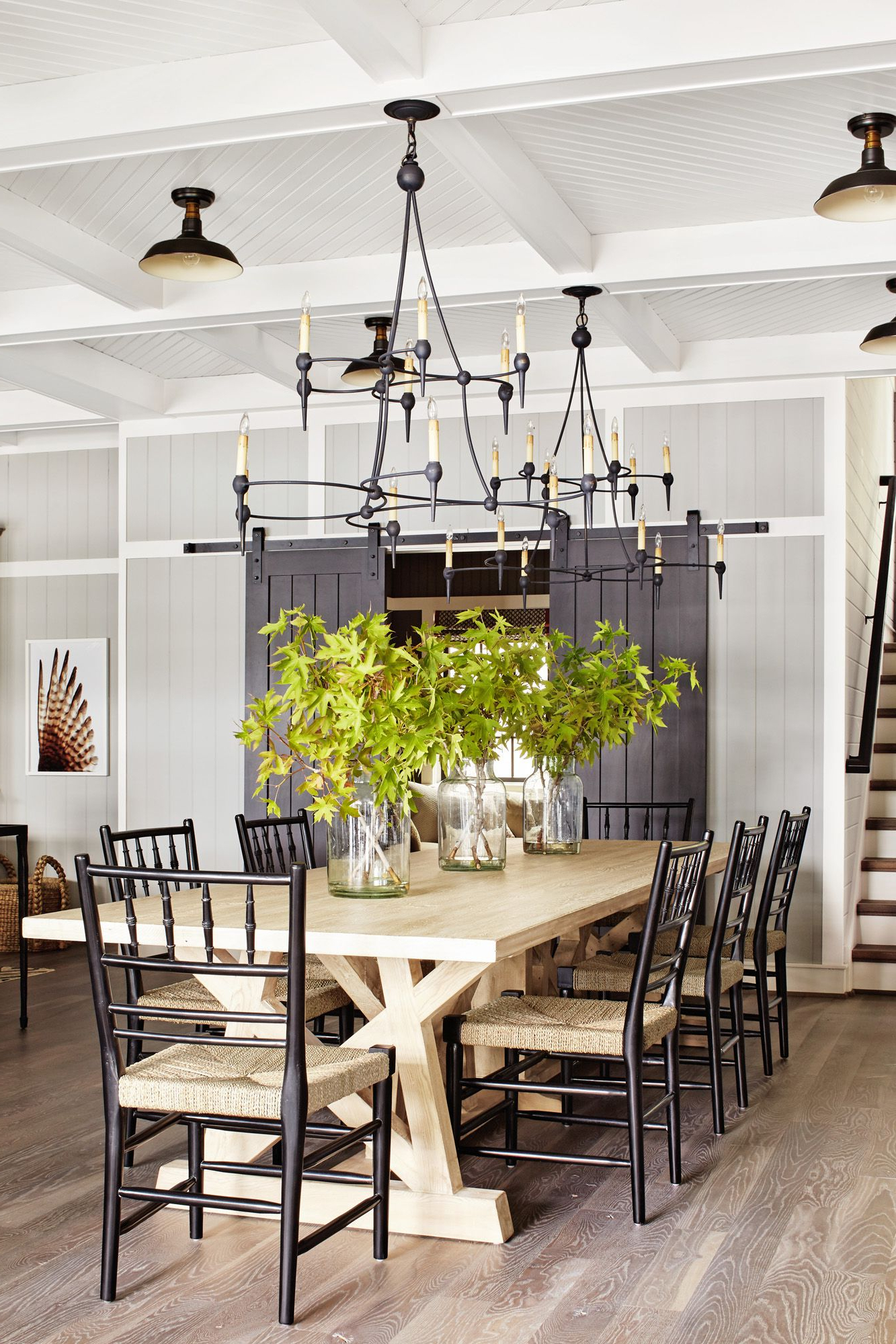 Best Farm Tables - Country Farmhouse Kitchen Tables in Current Parkmore Reclaimed Wood Extending Dining Tables