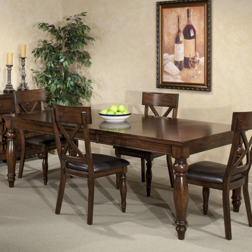 Bismark Dining Tables pertaining to Most Up-to-Date Intercon Kingston Dining Table
