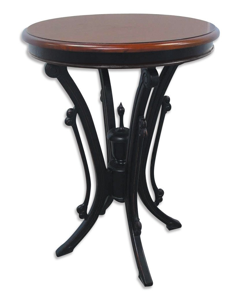 Blair Bistro Tables throughout Most Recent Trade Winds Furniture 715 Victorian Round Bistro Table