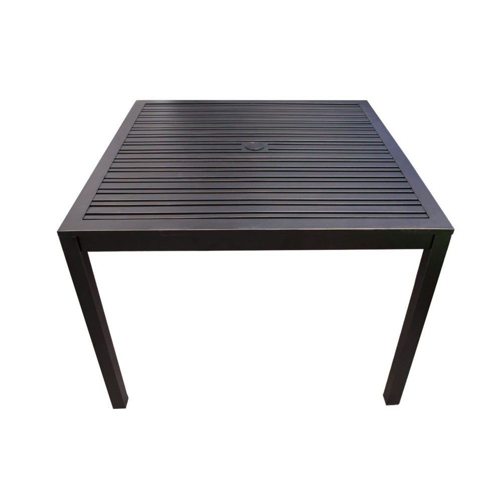 Brooks 40-Inch Square Dining Table with Best and Newest Brooks Dining Tables