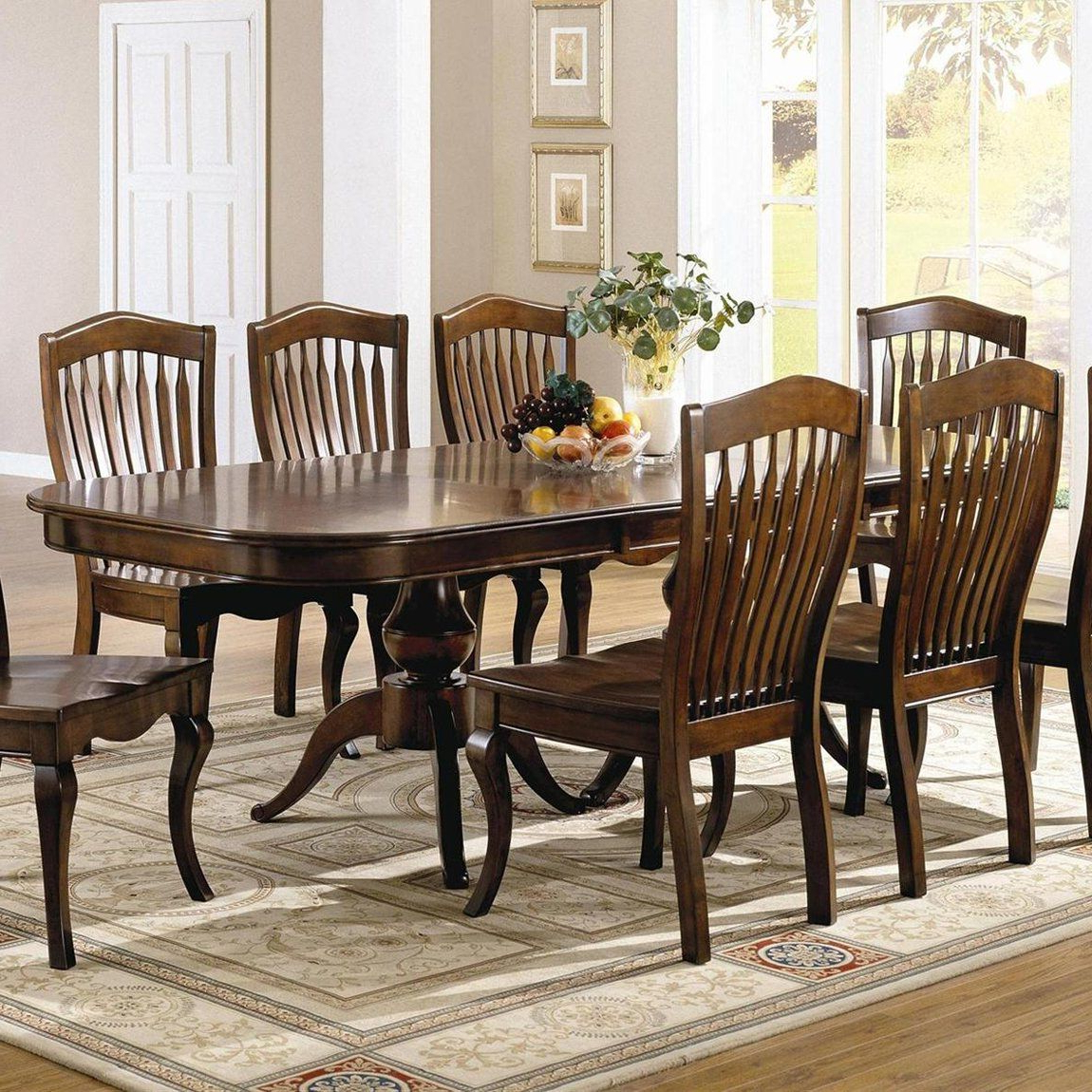 Brooks Dining Tables in Recent Brooks Furniture Classic Heirlooms Double Pedestal Dining
