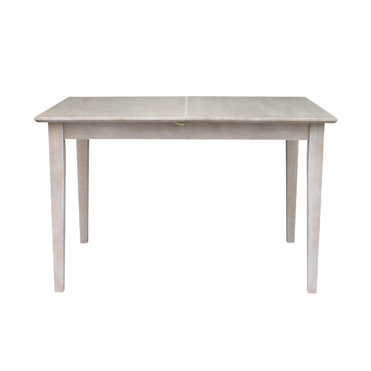 Current Table With Butterfly Extension – Washed Gray Taupe – Washed Gray Taupe In Gray Wash Benchwright Extending Dining Tables (View 11 of 25)