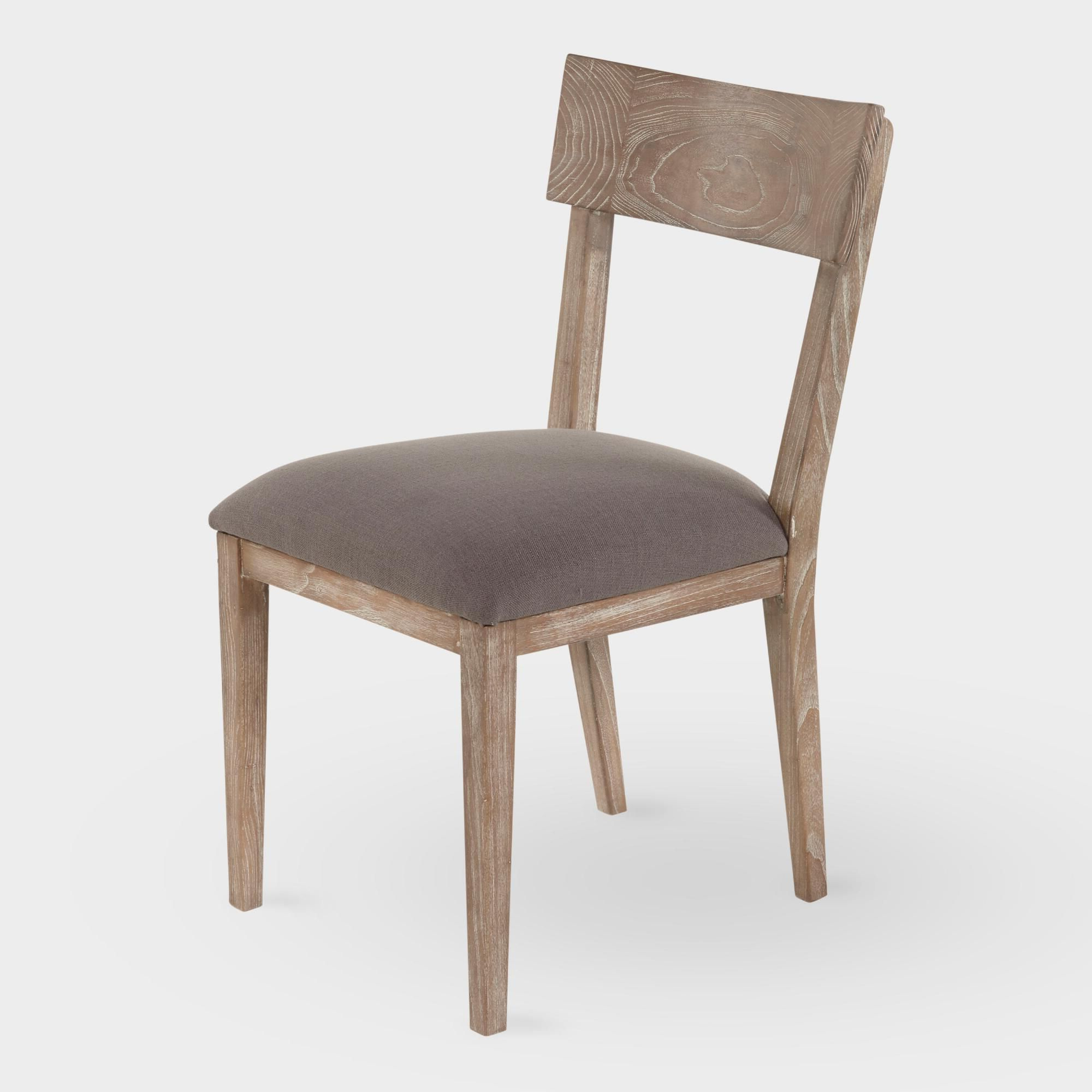 Dining Chairs pertaining to Well known Brown Wash Livingston Extending Dining Tables