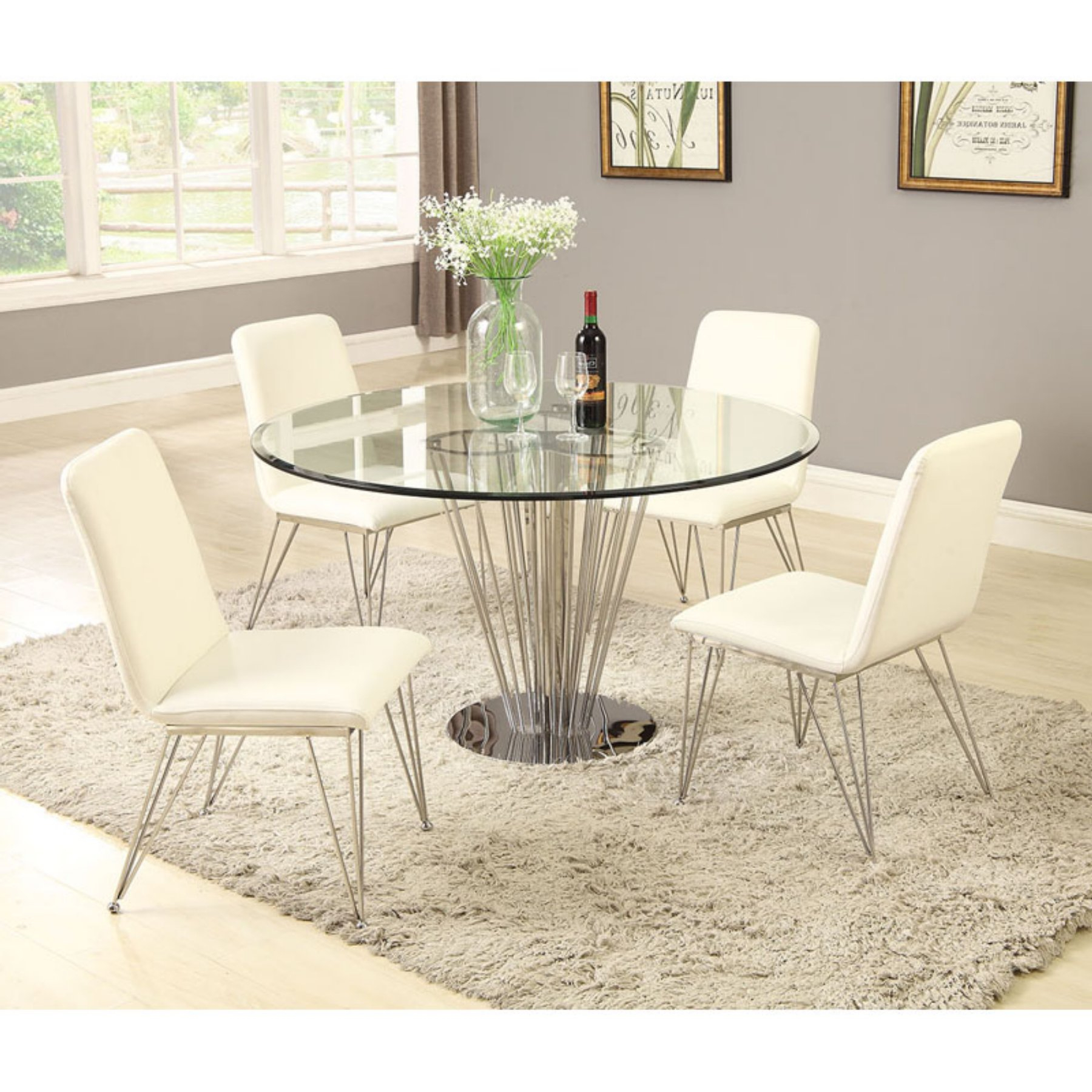 Dining for 2019 Cleary Oval Dining Pedestal Tables