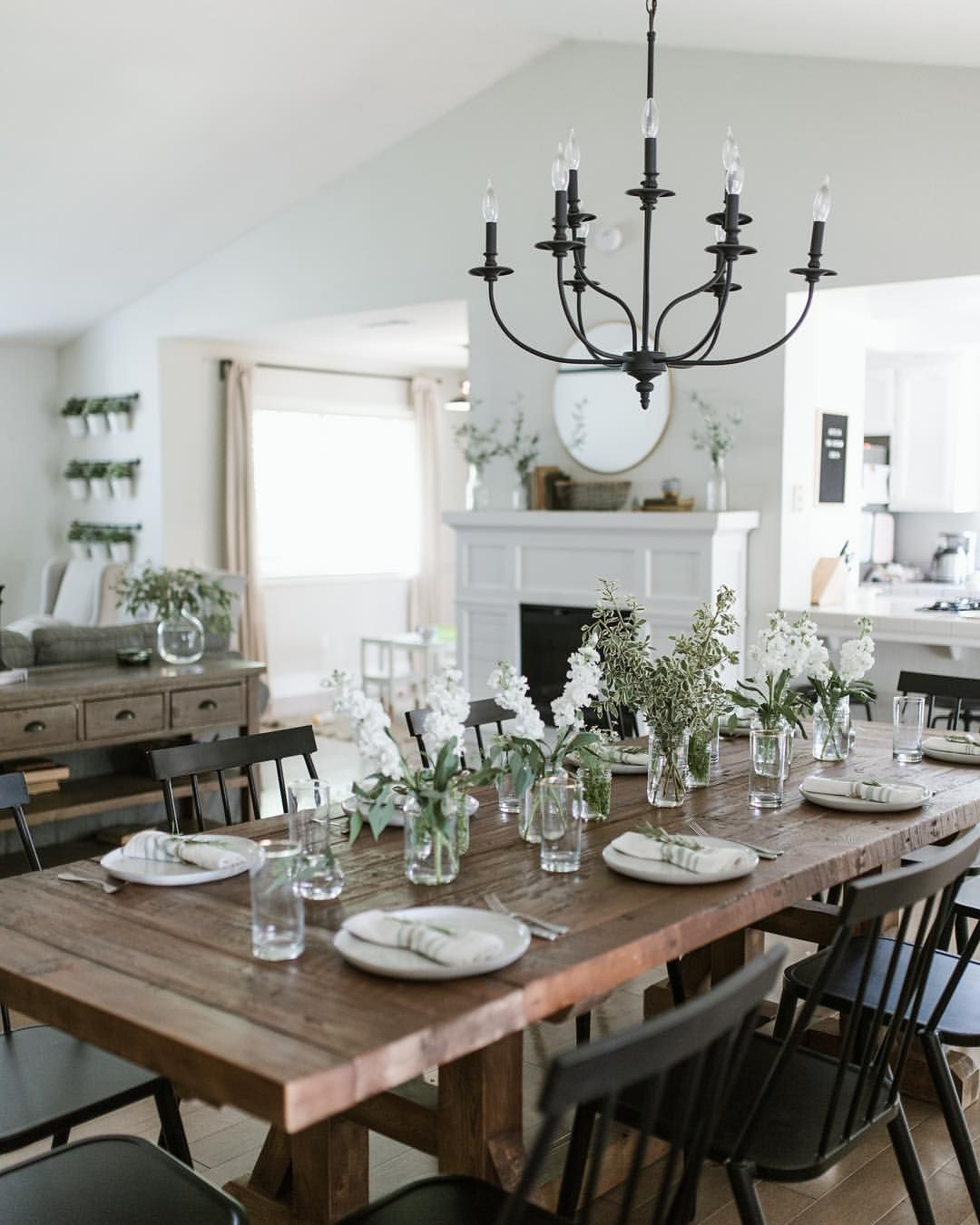 Dining for Preferred Modern Farmhouse Extending Dining Tables
