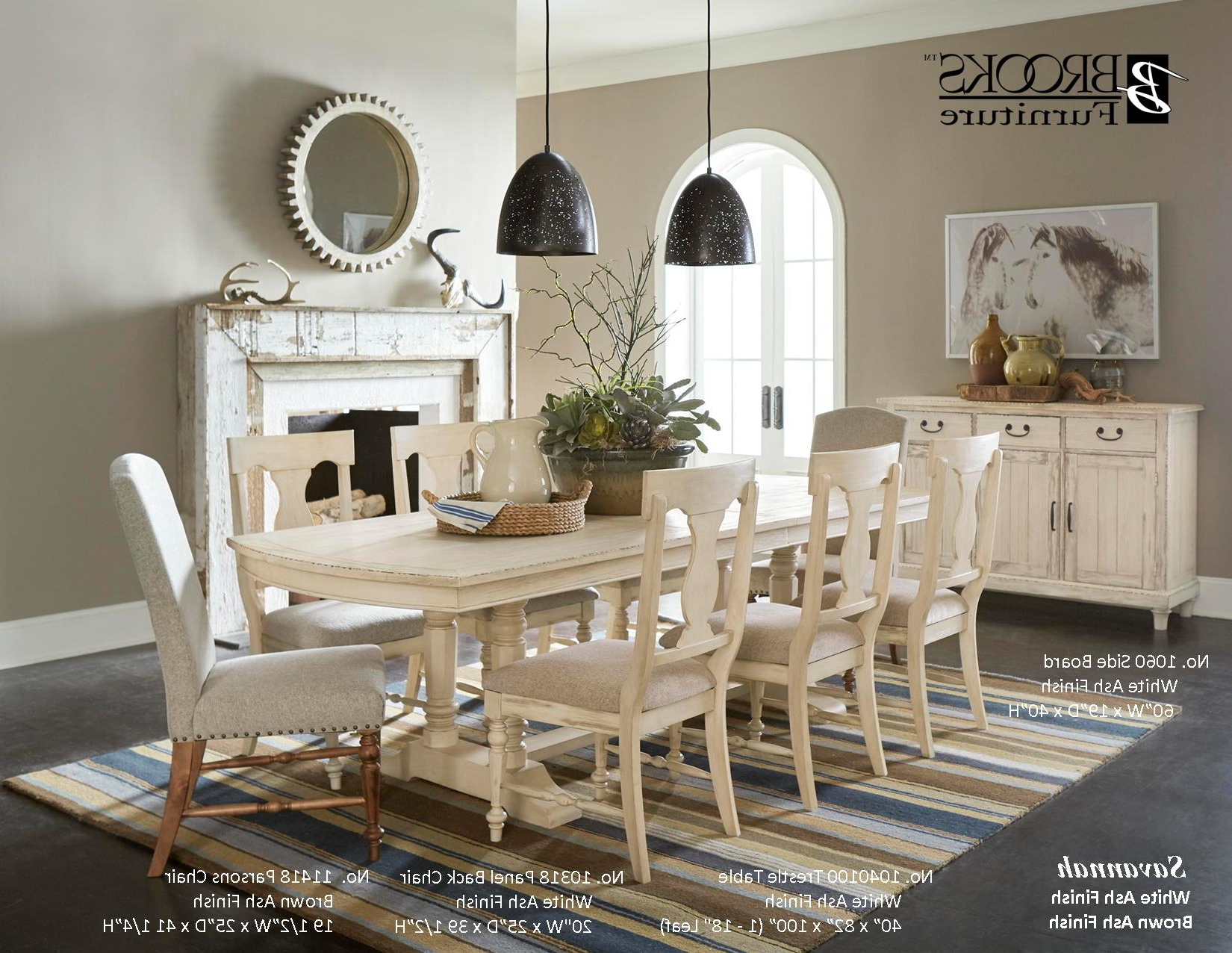 Dining Room - Brooks Furniture with Well known Brooks Round Dining Tables
