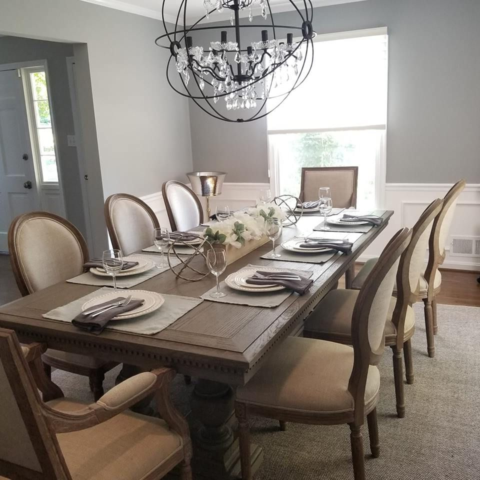 Dining Room! St James Table From Restoration Hardware With intended for Latest Gray Wash Lorraine Extending Dining Tables