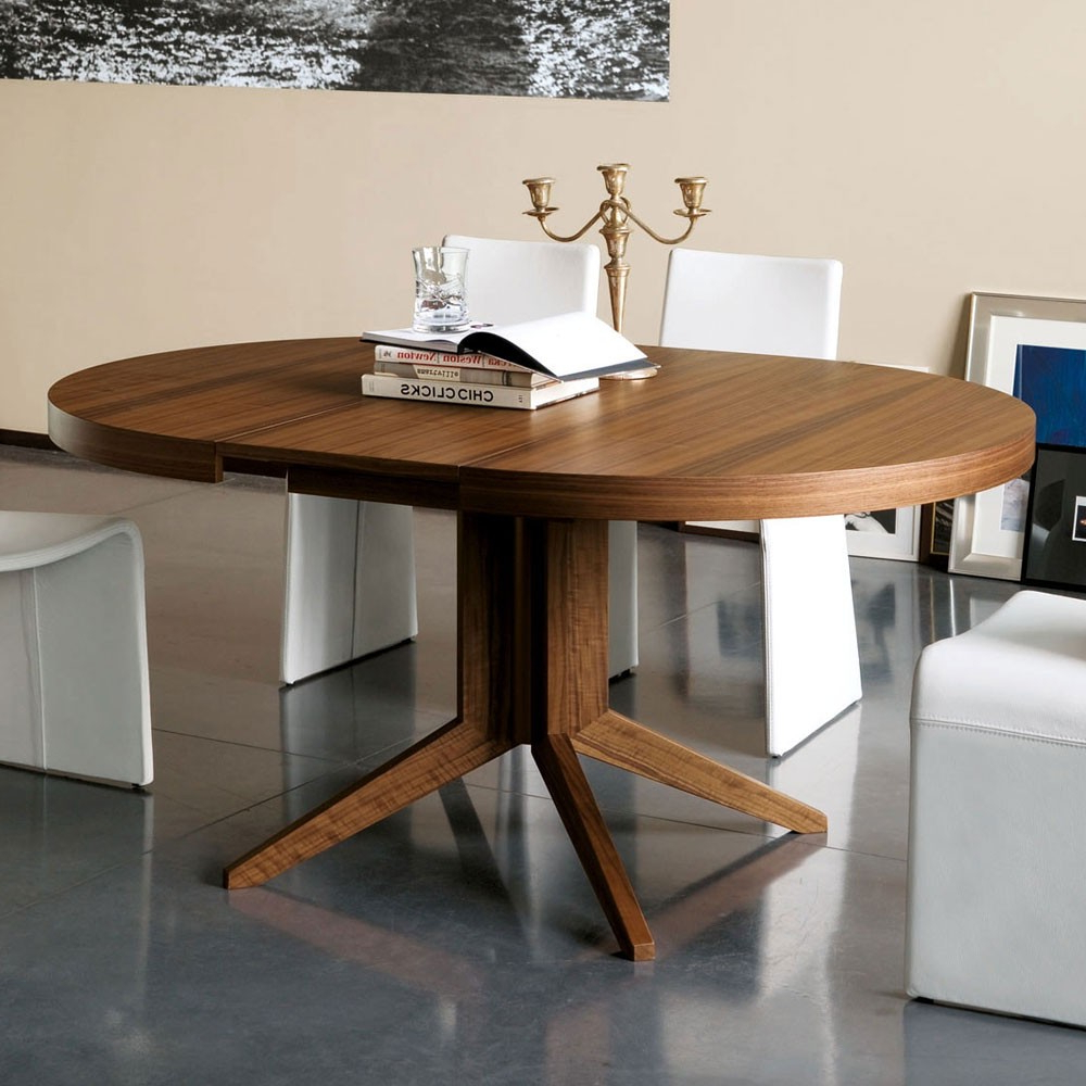 Dining Tables Amusing Round Dining Table Extendable Round with Favorite Rustic Mahogany Benchwright Pedestal Extending Dining Tables