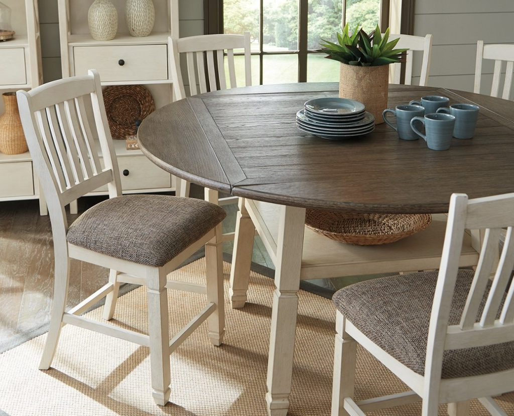 Drop Leaf Table: 7 Of Our Favorites That Are Perfect For within Recent Reed Extending Dining Tables