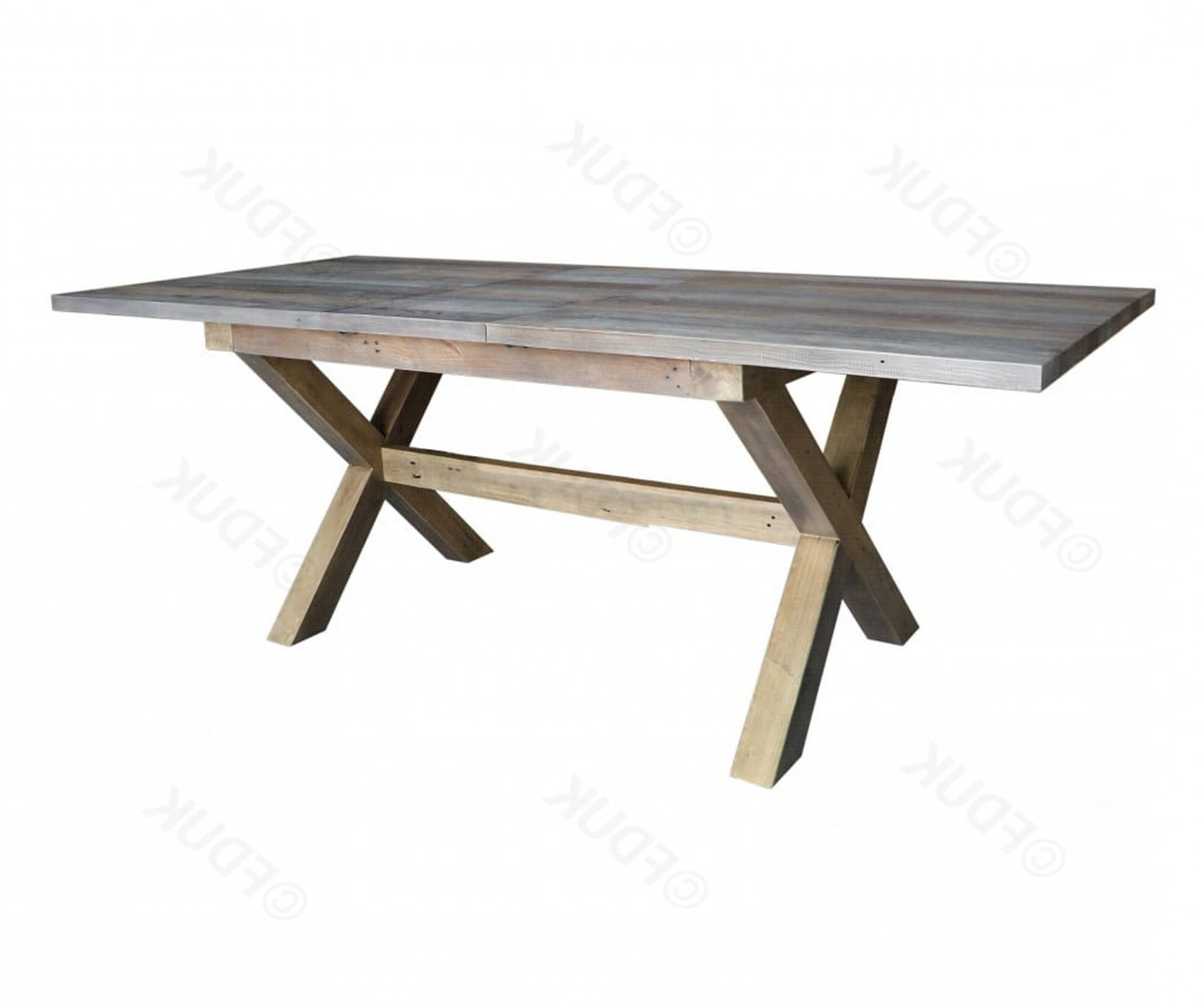 Enchanting Rustic Reclaimed Wood Extending Dining Table Throughout Well Known Hart Reclaimed Extending Dining Tables (View 5 of 25)