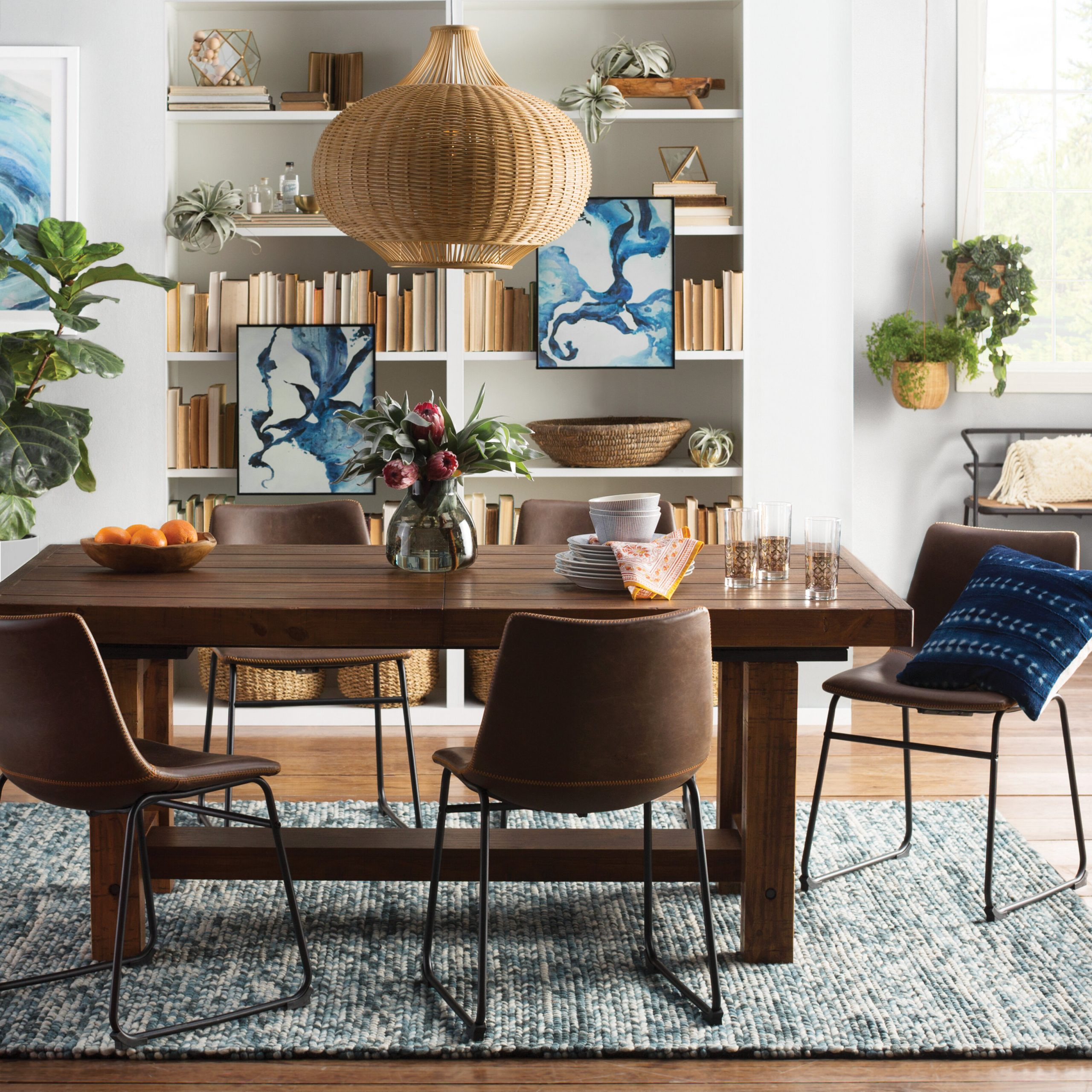 Etolin Extendable Dining Table within Well-known Christie Round Marble Dining Tables