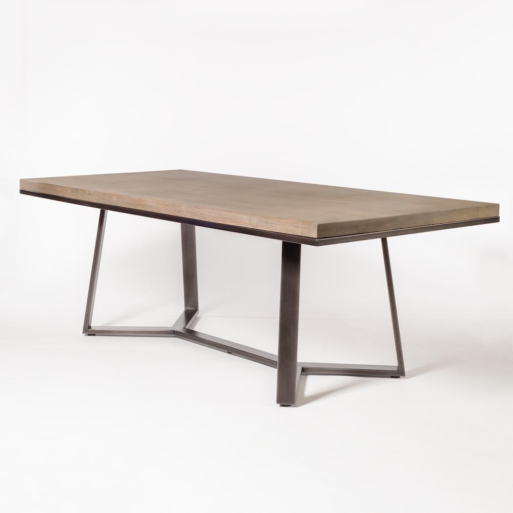 Famous Alder Pub Tables For Sloan 84″ Dining Table – Alder & Tweed Furniture (View 10 of 25)