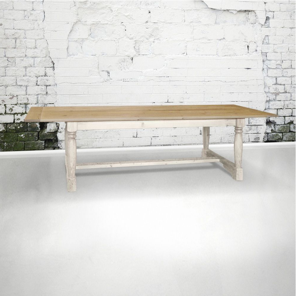 Farmhouse Regarding Widely Used Belgian Gray Linden Extending Dining Tables (View 24 of 25)