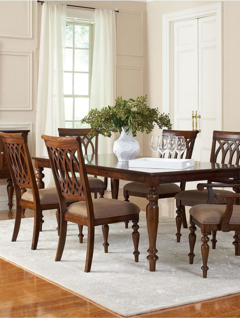 Fashionable Reizend Crestwood Dining Room Furniture Collection Macys With Avondale Counter Height Dining Tables (View 22 of 25)