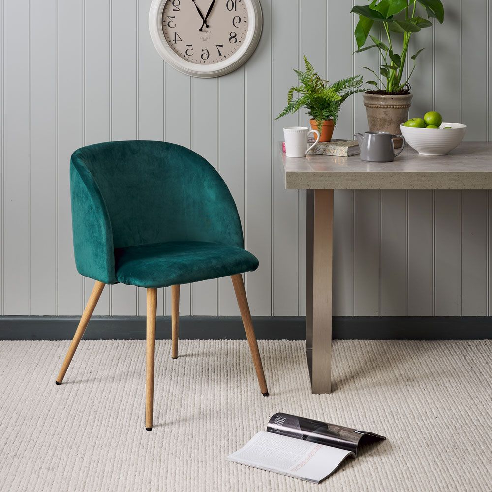 Faye Extending Dining Tables Regarding Fashionable Faye Dining Chair – Emerald (View 10 of 25)