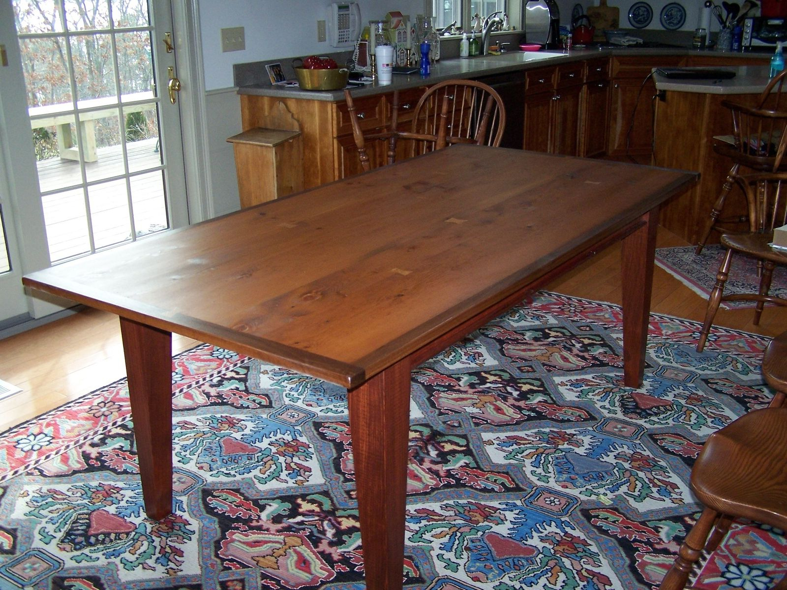 Hand Made Reclaimed Heart Pine Dining Tablesaltwater Intended For Most Popular Stafford Reclaimed Extending Dining Tables (View 9 of 25)