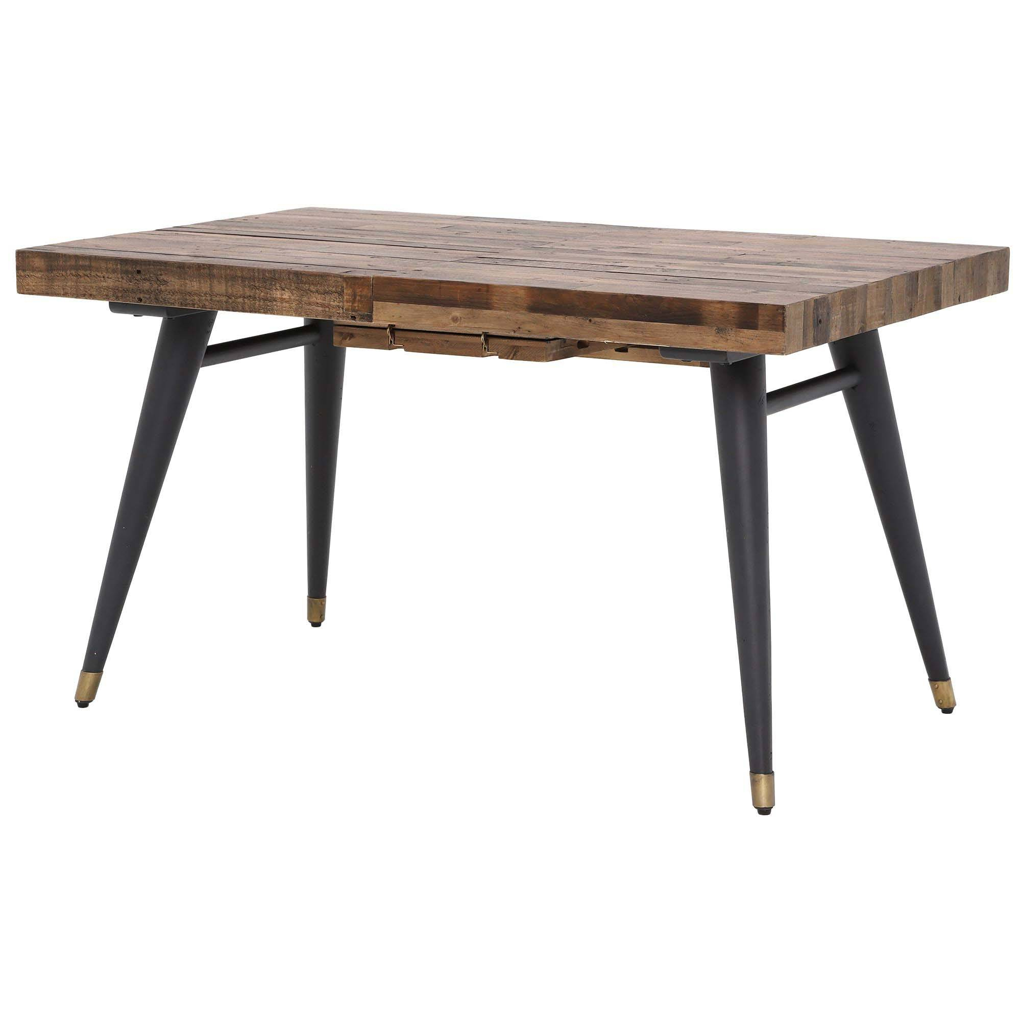 Hart Reclaimed Wood Extending Dining Tables with Newest Furniture Dining Room Reclaimed Extending Table Wood