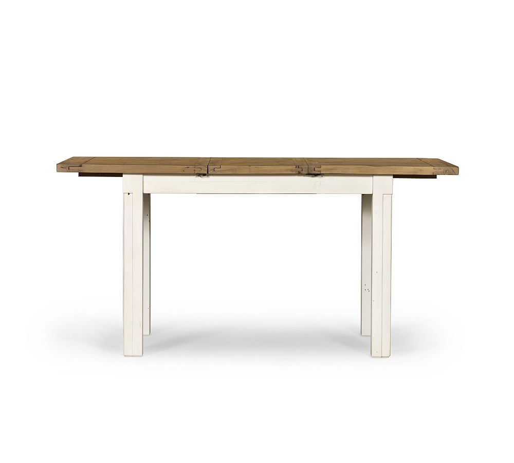 Hart Reclaimed Wood Rectangular Dining Table, Small Intended For Most Popular Hart Reclaimed Extending Dining Tables (View 4 of 25)