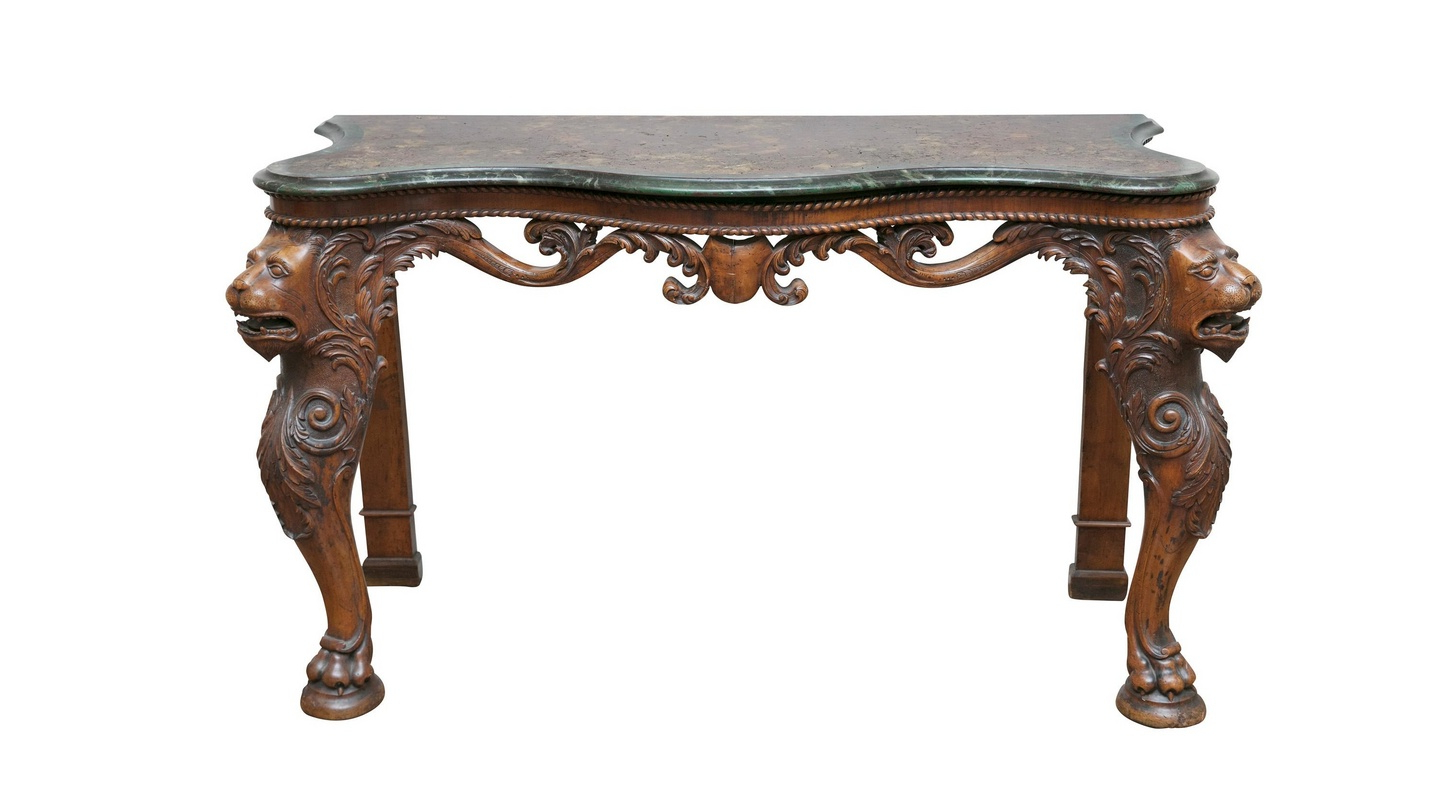Hearst Bar Tables in Most Recently Released How A Us Press Baron's Table Came To An Adam's Auction