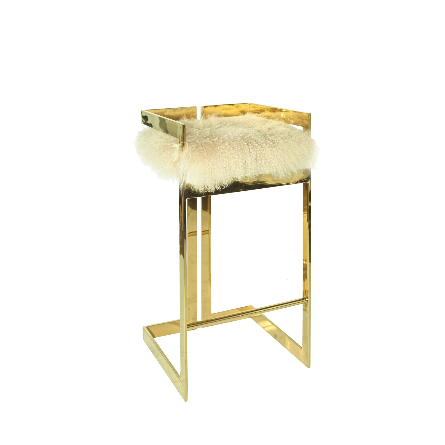 Hearst Bar Tables with 2019 Hearst Counter Stool With Mongolian Fur Seat
